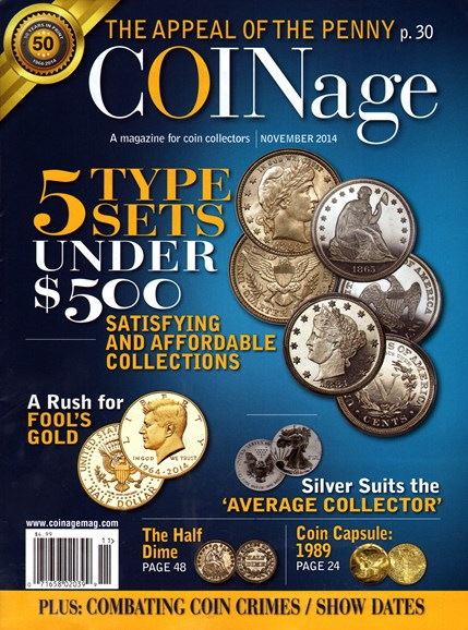 Coinage Cover - 11/1/2014