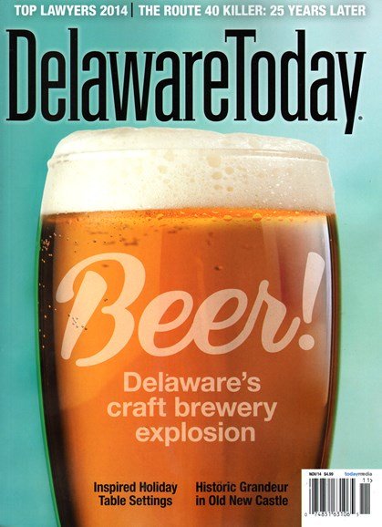 Delaware Today Cover - 11/1/2014