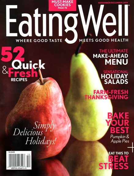 EatingWell Cover - 11/1/2014