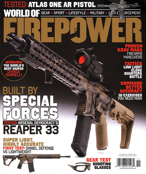 World of Firepower Cover - 11/1/2014