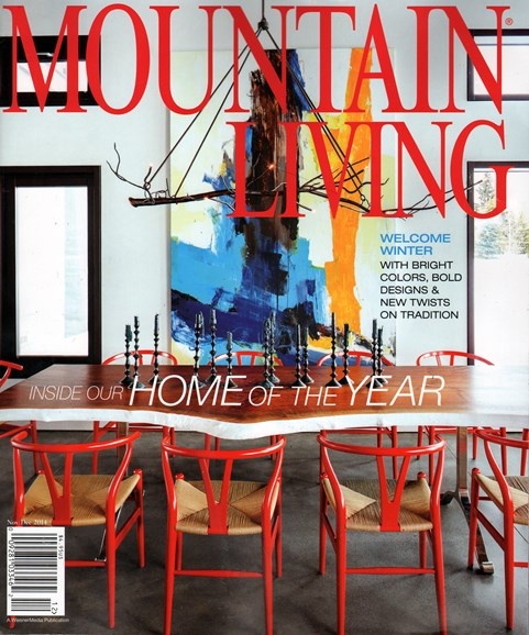 Mountain Living Cover - 11/1/2014