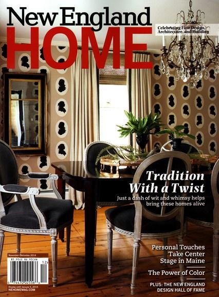 New England Home Cover - 11/1/2014