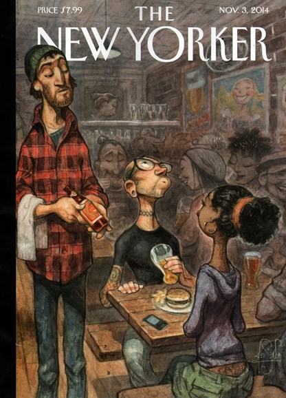 The New Yorker Cover - 11/3/2014
