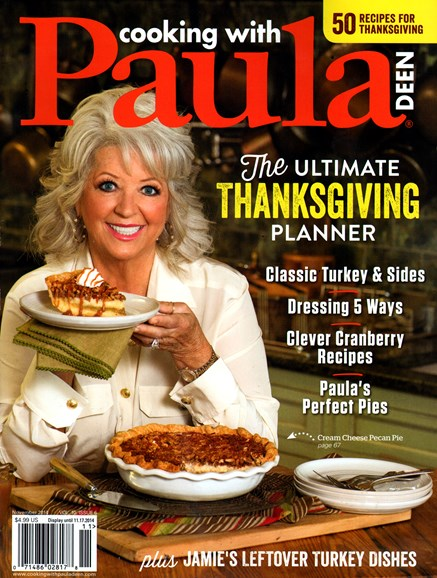 Cooking With Paula Deen Cover - 11/1/2014