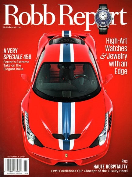Robb Report Cover - 11/1/2014