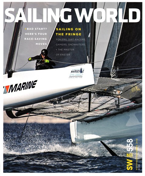 Sailing World Cover - 11/1/2014