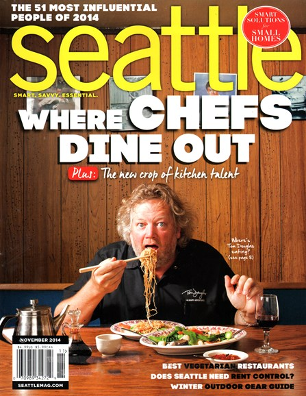 Seattle Magazine Cover - 11/1/2014