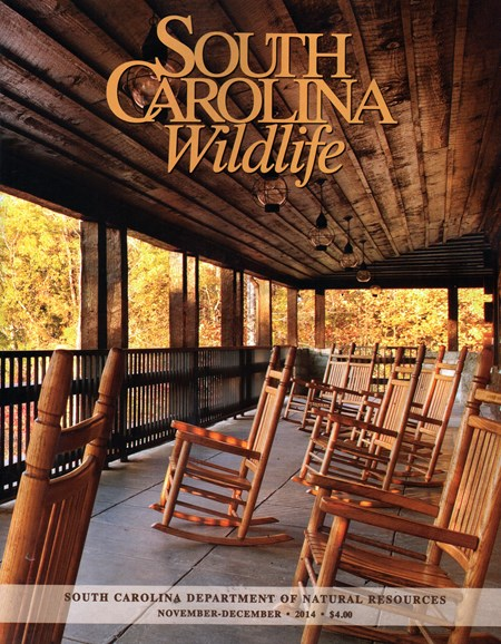 South Carolina Wildlife Cover - 11/1/2014