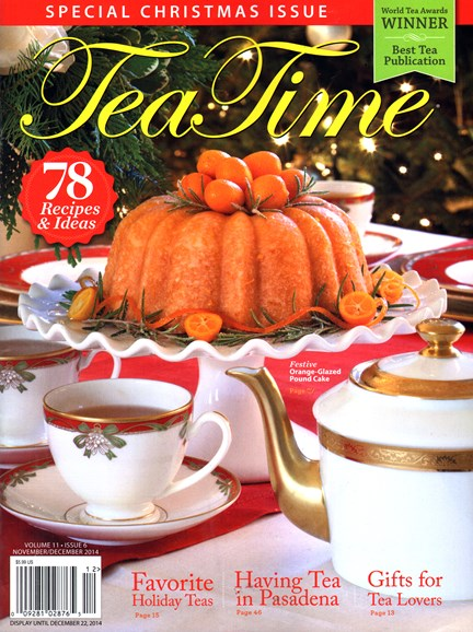 Tea Time Cover - 11/1/2014