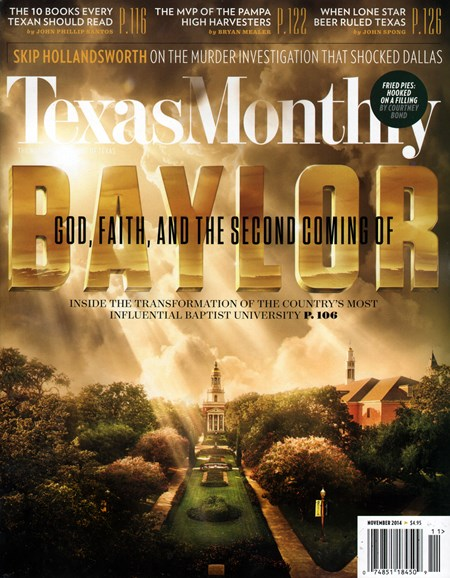 Texas Monthly Cover - 11/1/2014