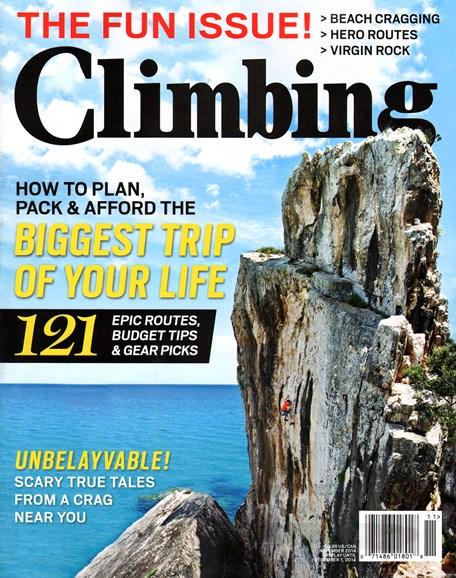 Climbing Magazine Cover - 11/1/2014