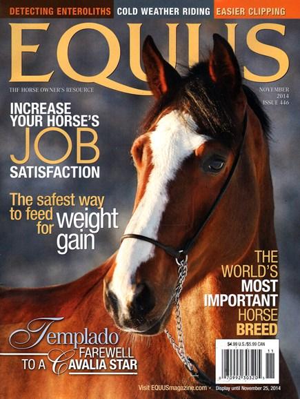 Equus Cover - 11/1/2014