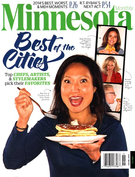 Minnesota Monthly Cover - 11/1/2014