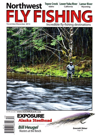 Northwest Fly Fishing Cover - 11/1/2014