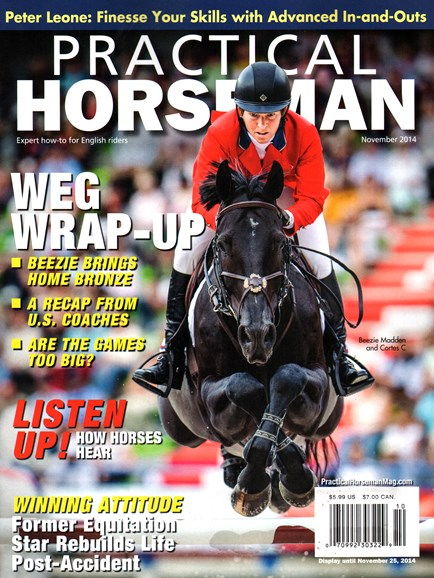 Practical Horseman Cover - 11/1/2014