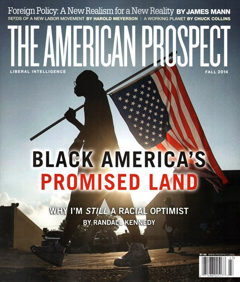 The American Prospect Cover - 9/1/2014
