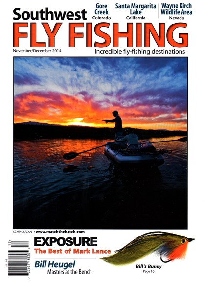 Southwest Fly Fishing Cover - 11/1/2014