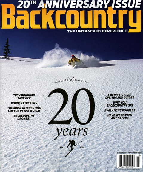 Backcountry Cover - 11/1/2014