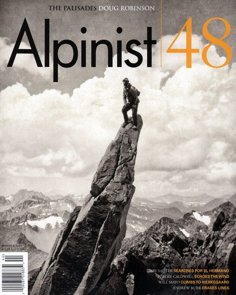 Alpinist Cover - 12/1/2014