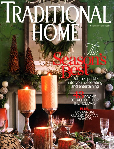 Traditional Home Cover - 11/1/2014