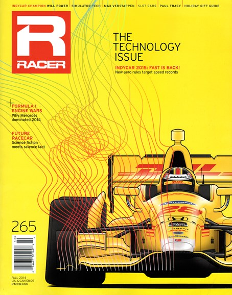 Racer Cover - 10/1/2014