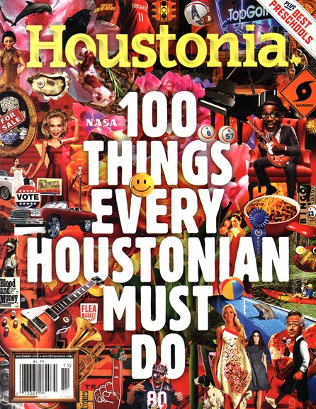 Houstonia Cover - 11/1/2014