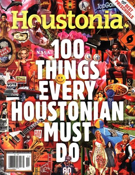 Houstonia Cover - 11/1/2014