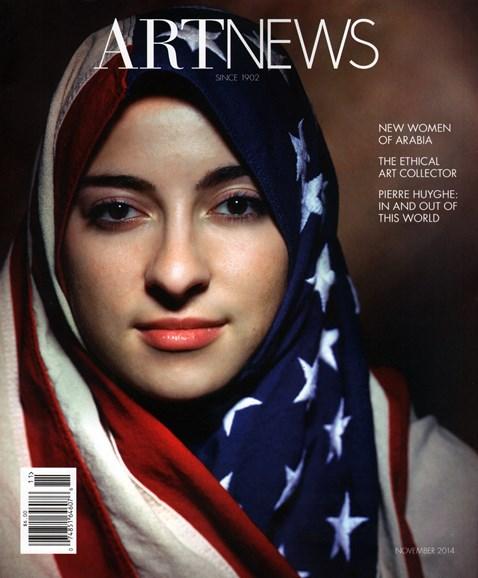 ARTnews Cover - 11/1/2014
