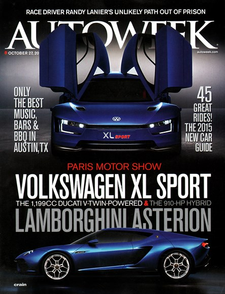 Autoweek Cover - 10/27/2014