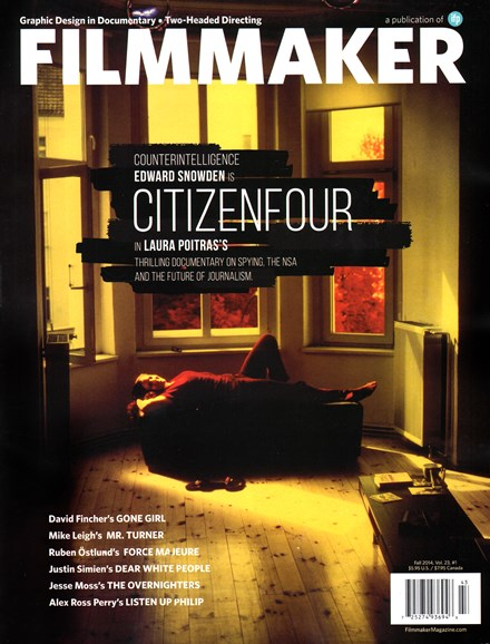Filmmaker: The Magazine Of Independent Film Cover - 10/1/2014