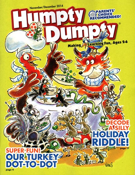 Humpty Dumpty Cover - 11/1/2014