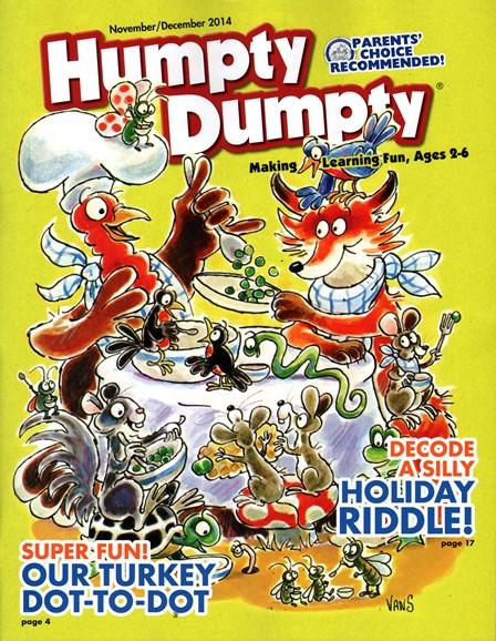 Humpty Dumpty Cover - 11/1/2014