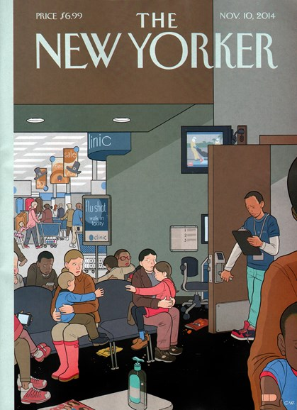 The New Yorker Cover - 11/10/2014