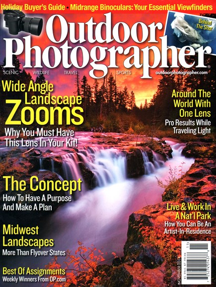 Outdoor Photographer Cover - 11/1/2014