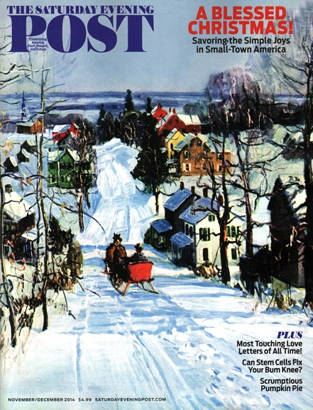 The Saturday Evening Post Cover - 11/1/2014