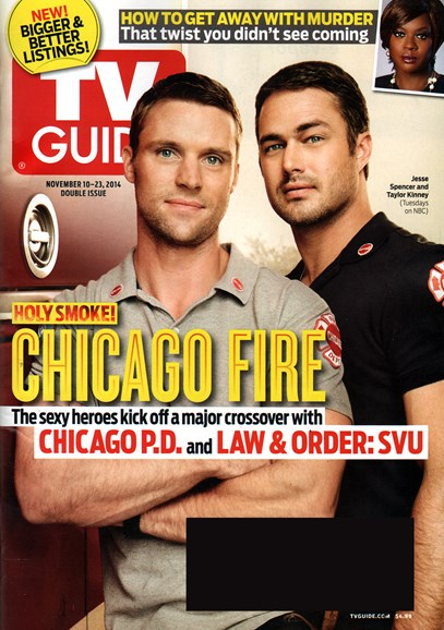 TV Guide Cover - 11/10/2014