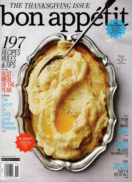 Bon Appétit Cover - 11/1/2014