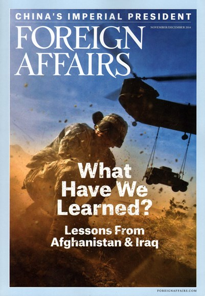 Foreign Affairs Cover - 11/1/2014