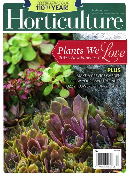 Horticulture Cover - 11/1/2014