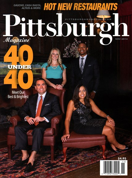 Pittsburgh Magazine Cover - 11/1/2014