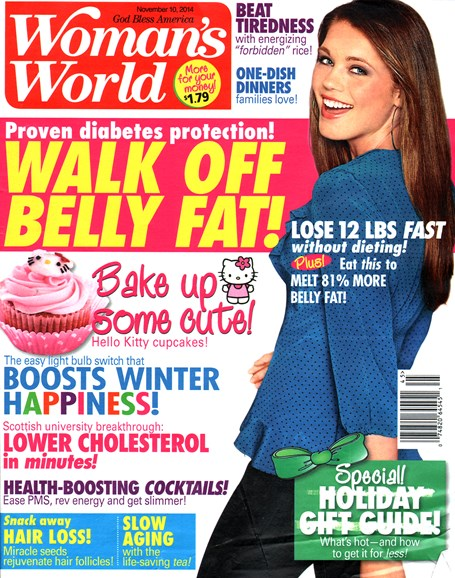 Woman's World Cover - 11/10/2014