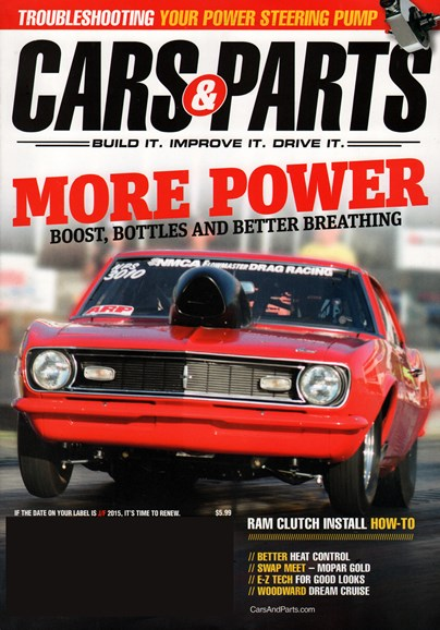 Cars & parts Cover - 11/1/2014
