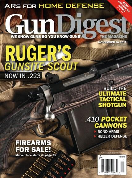 Gun Digest Cover - 11/20/2014