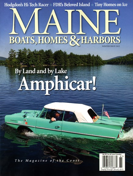 Maine Boats, Homes & Harbors Cover - 12/1/2014