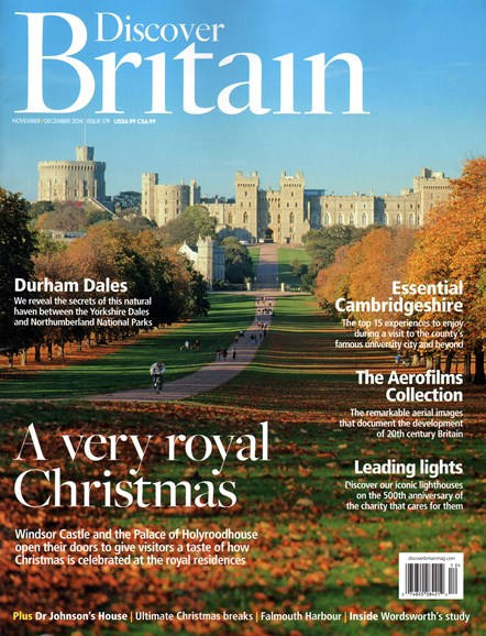 Discover Britain Cover - 11/1/2014