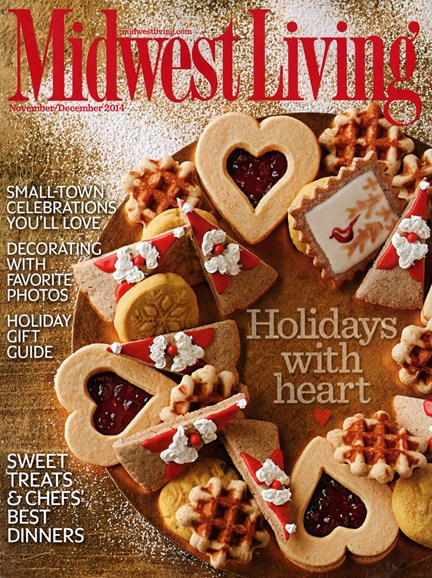Midwest Living Cover - 11/1/2014