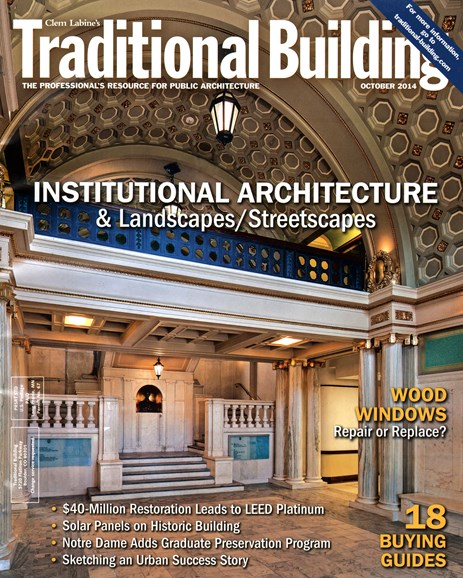 Traditional Building Cover - 10/1/2014
