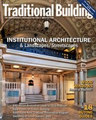 Traditional Building Magazine 10/1/2014