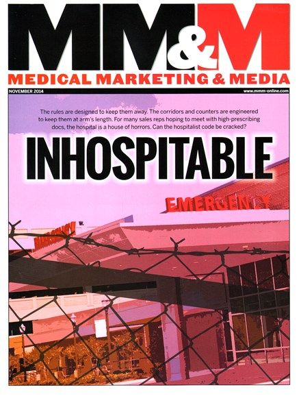Medical Marketing & Media Cover - 11/1/2014