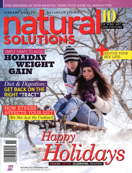Natural Solutions Cover - 11/1/2014